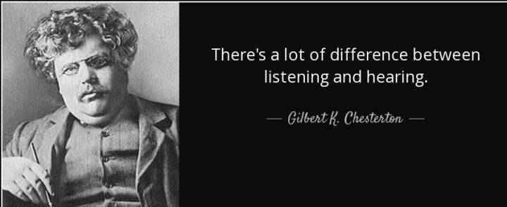 Listening or waiting tospeak?